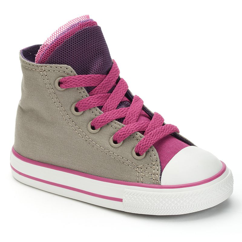 Toddler Converse All Star Party Mesh Multi-Tongue High-Top Sneakers