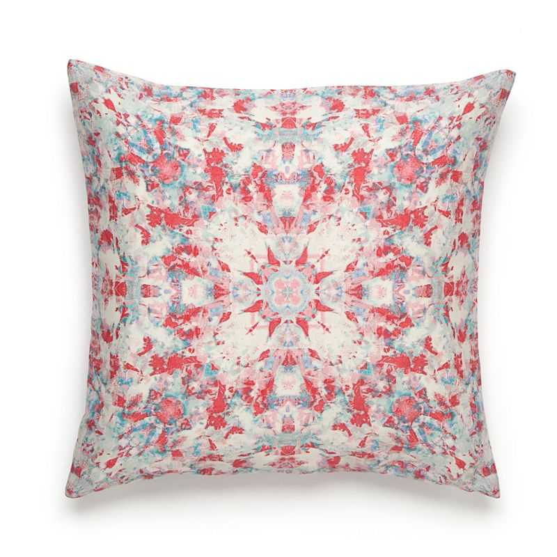 Amy Sia Painterly Kaleidoscope Throw Pillow