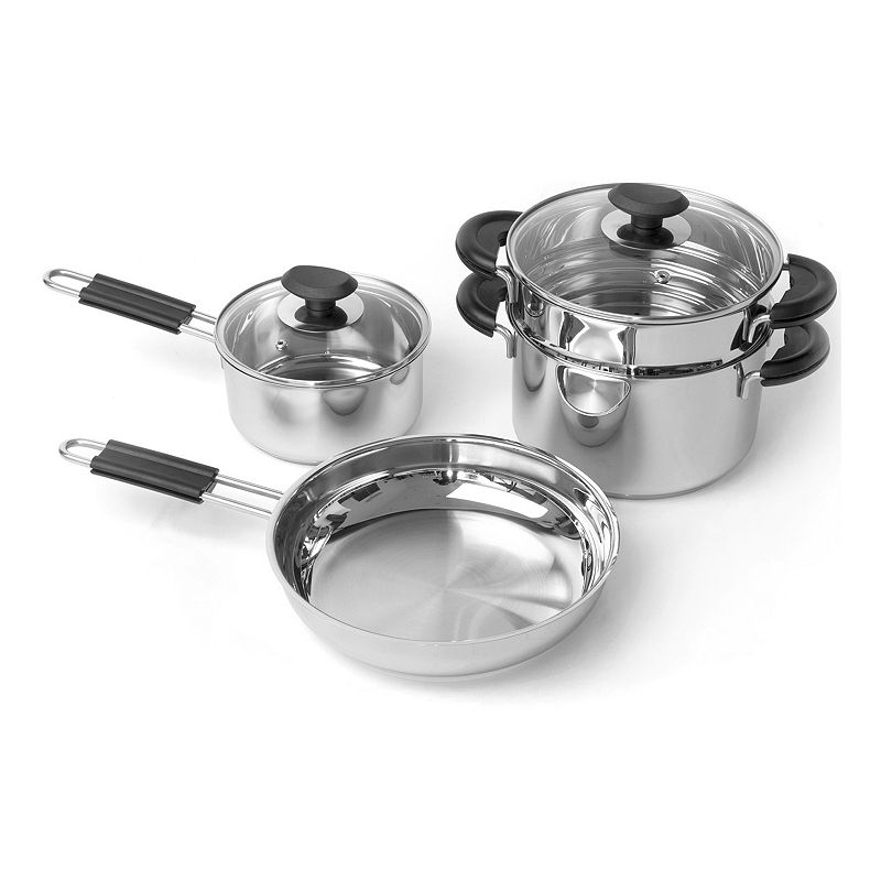BergHOFF 6-pc. Stainless Steel Cookware Set