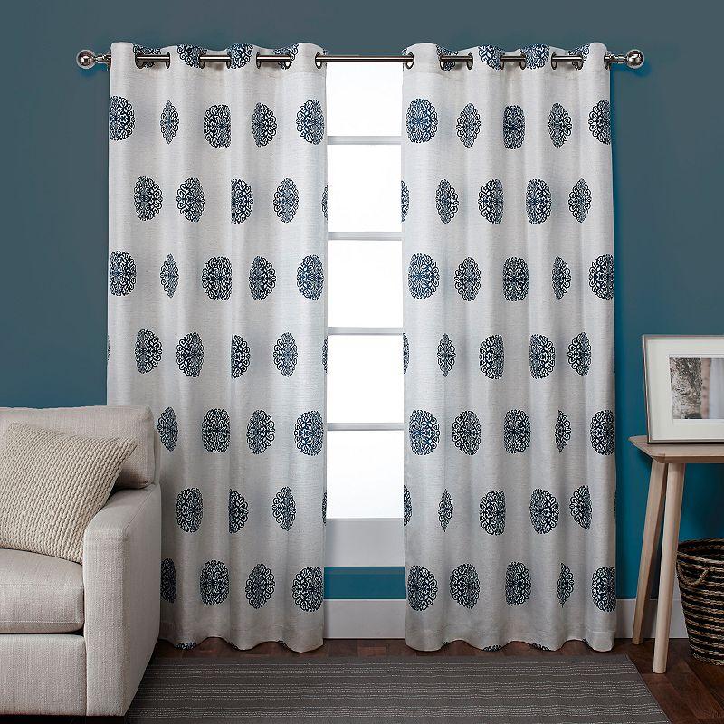 Exclusive Home Sedgewick Curtain Pair - 54'' x 84''