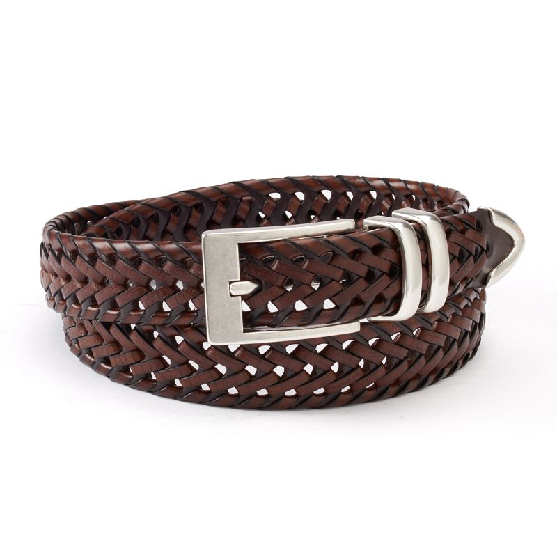 Dockers® Braided Brown Belt - Men