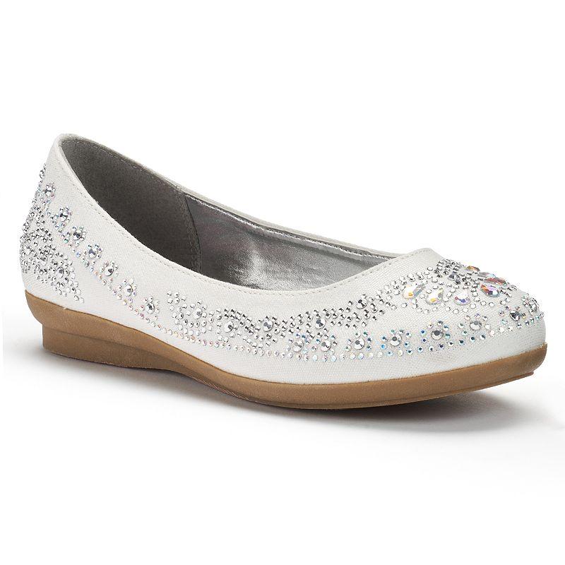 Candie's® Girls' Embellished Ballet Flats