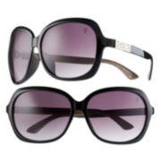 Jennifer Lopez Studded Rectangular Sunglasses - Women