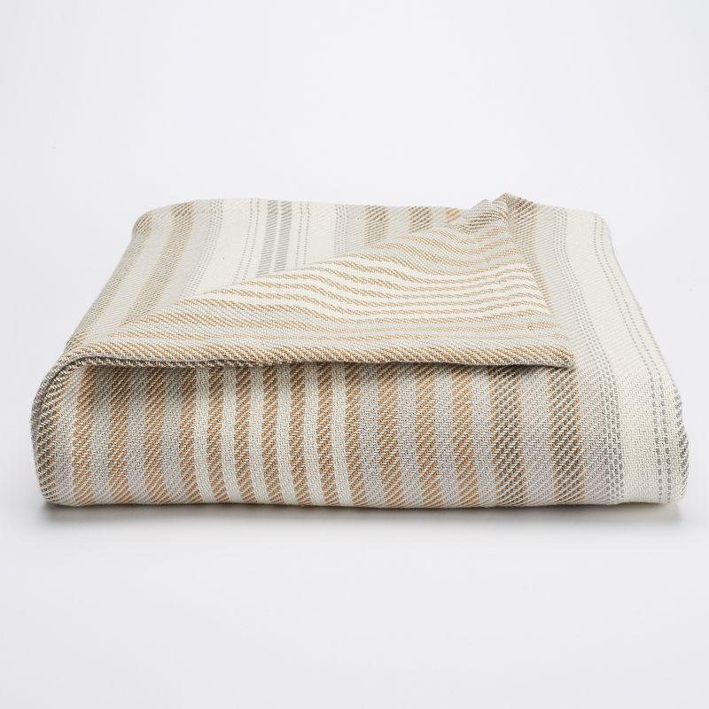 Chaps Yarn-Dyed Blanket