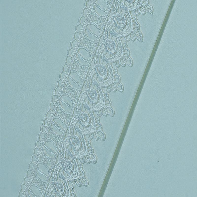 Peach Skin Venice Lace Microfiber Sheets