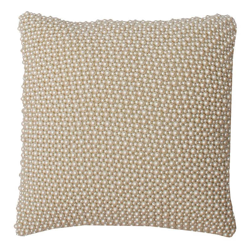 Thro By Marlo Lorenz Simulated Pearl Throw Pillow
