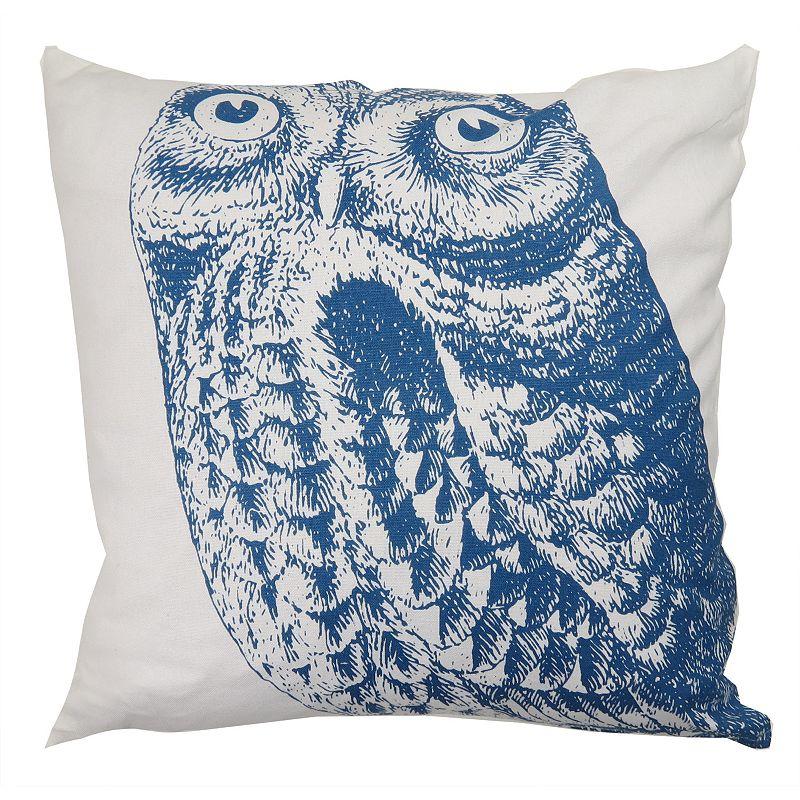 Park B. Smith Owl Throw Pillow