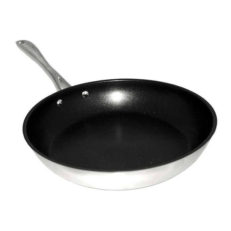 BergHOFF 12-in. Nonstick Stainless Steel Frypan