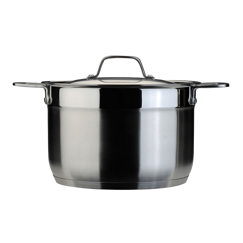 BergHOFF Earthchef 8-qt. Stainless Steel Covered Stockpot