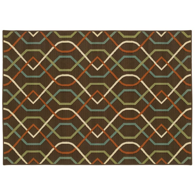Brown 5x7 Area Rug