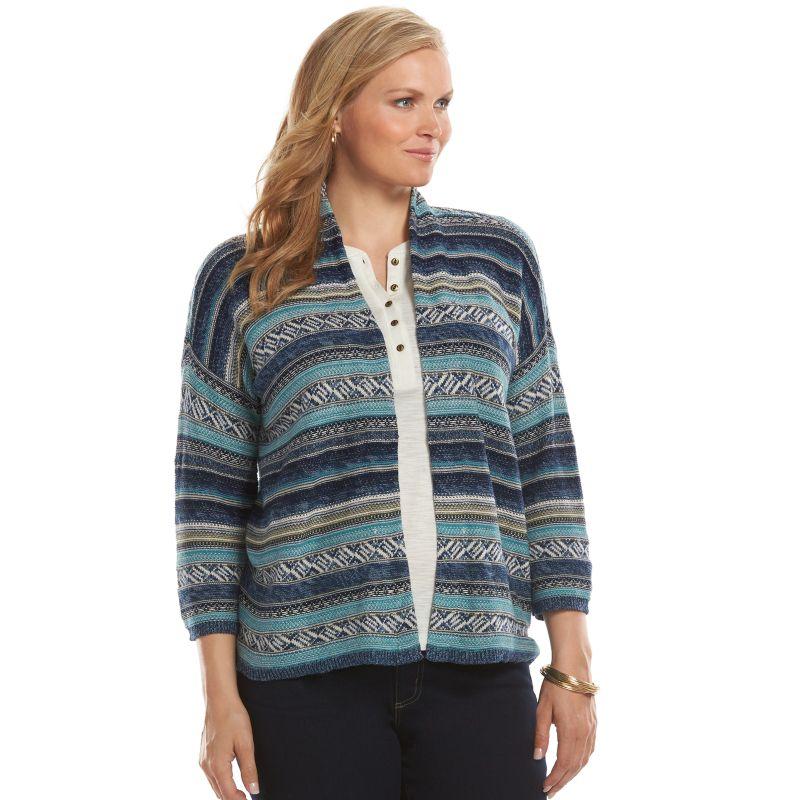 Women'S Plus Size Cardigans Kohls