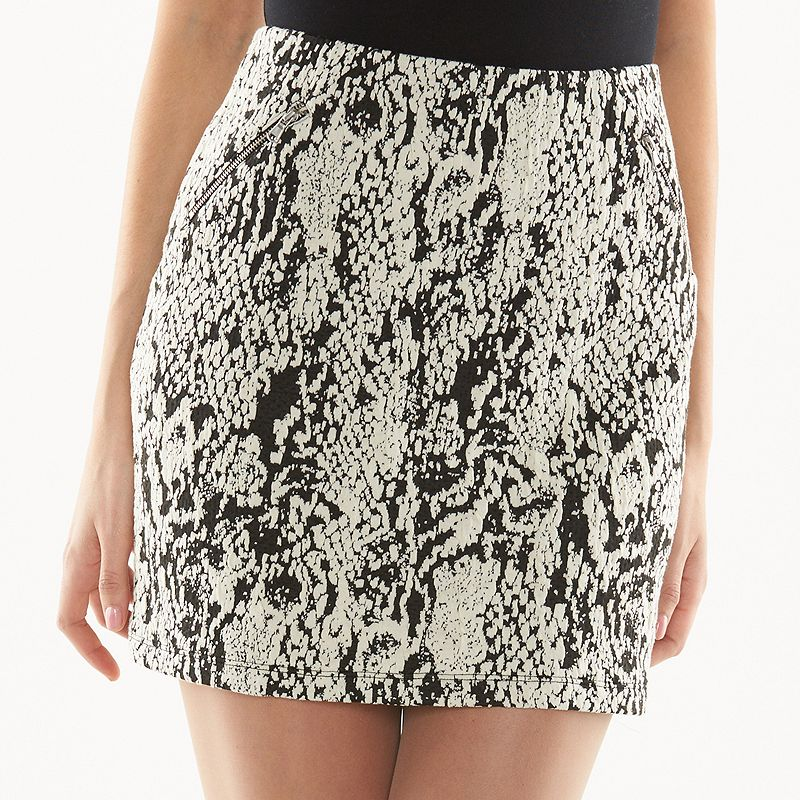 Women's Apt. 9® Animal Mini Skirt