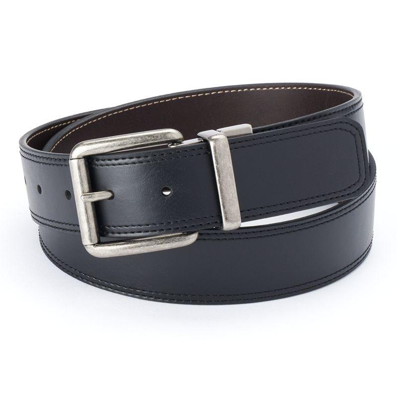 Men's Croft & Barrow Cut-Edge Reversible Belt