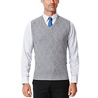 Haggar Mens V-Neck Sweater Vest