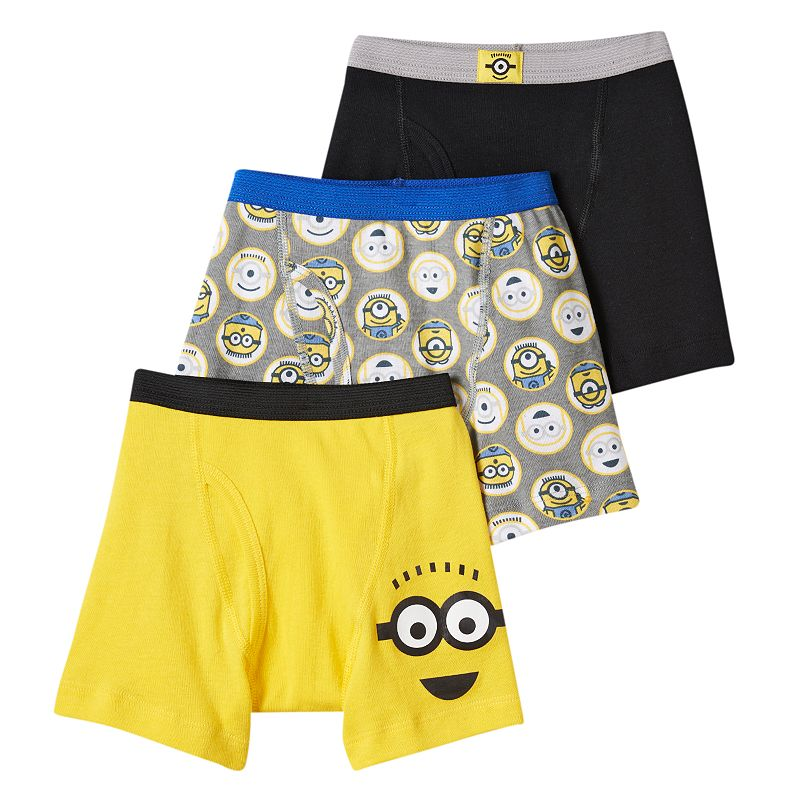 Boys Despicable Me 3-Pack Boxer Briefs