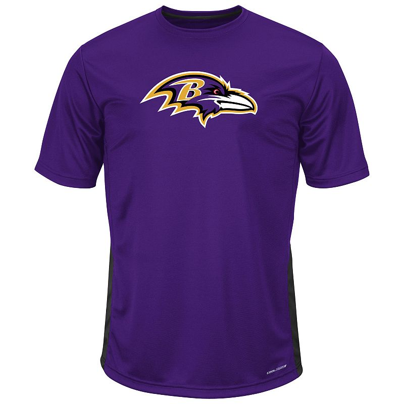 Big & Tall Majestic Baltimore Ravens To the Limits Synthetic Tee