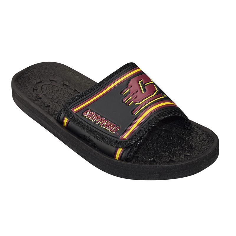 Adult Central Michigan Chippewas Slide Sandals