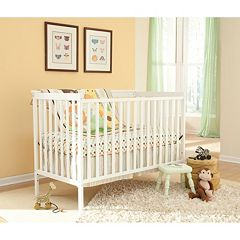 Stork Craft Sheffield 2-in-1 Fixed Side Convertible Crib