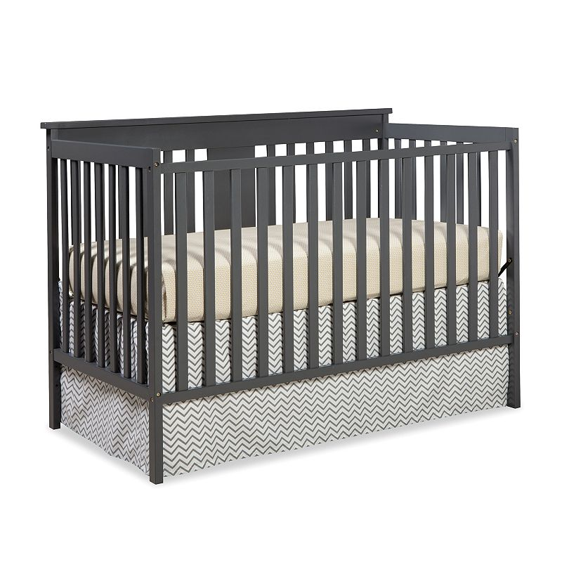Stork Craft Mission Ridge 3-in-1 Fixed Side Convertible Crib