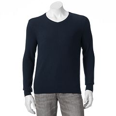 Mens Marc Anthony Classic-Fit Solid Cashmere V-Neck Sweater by