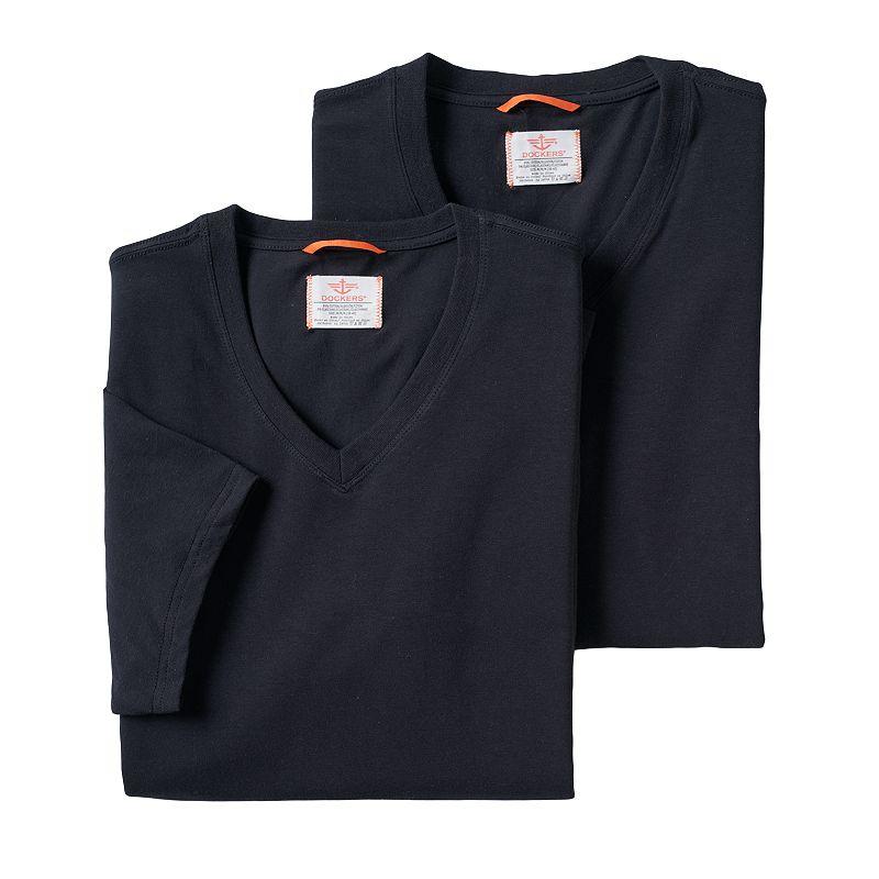Men's Dockers® 2-pack Stretch V-Neck Tees