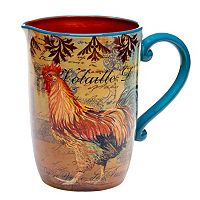 Certified International Rustic Rooster 3-qt. Pitcher