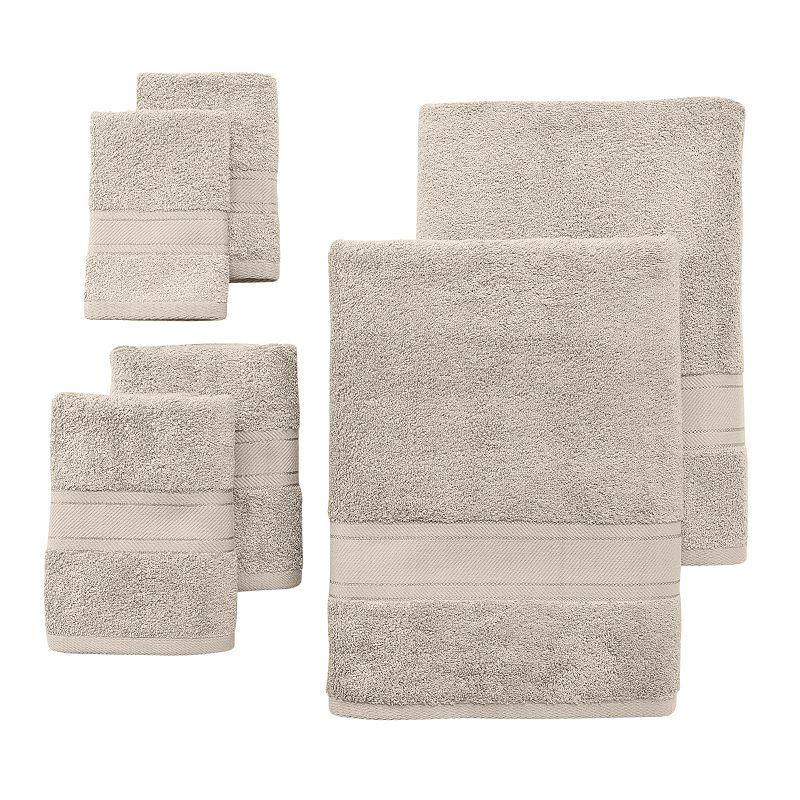 Naked 1888 Mills Plush Modal 6-pc. Bath Towel Set