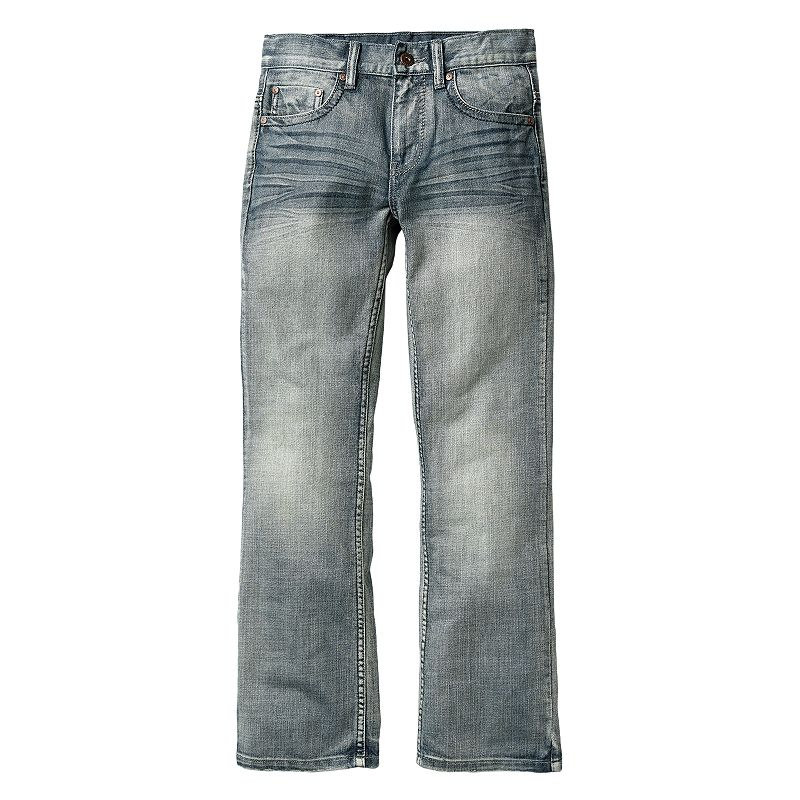 Boys 8-20 Flypaper Gray Bootcut Slim Jeans