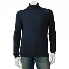 Mens Marc Anthony Classic-Fit Solid Cashmere Turtleneck Sweater by