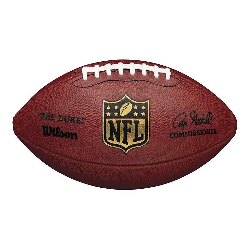 Wilson The Duke Official Game Football