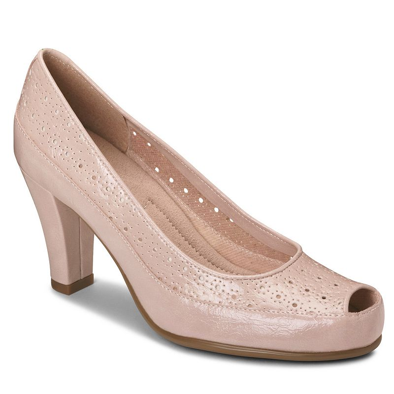 A2 Benn Station Women's Peep-Toe Heels