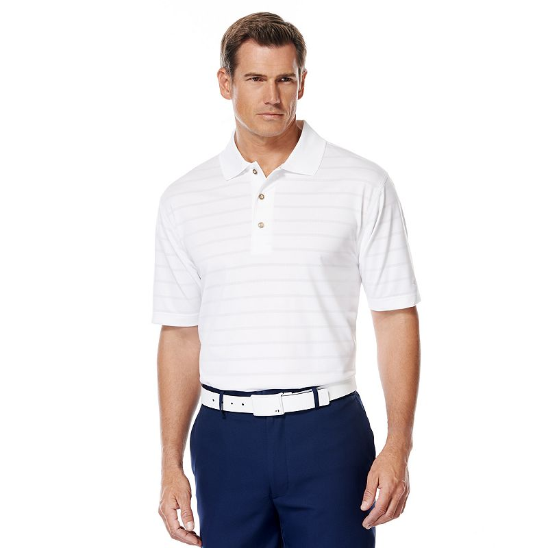Men's Grand Slam Airflow Striped Performance Polo