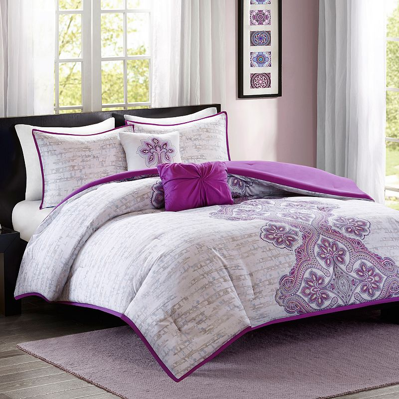Intelligent Design Hannah Comforter Set
