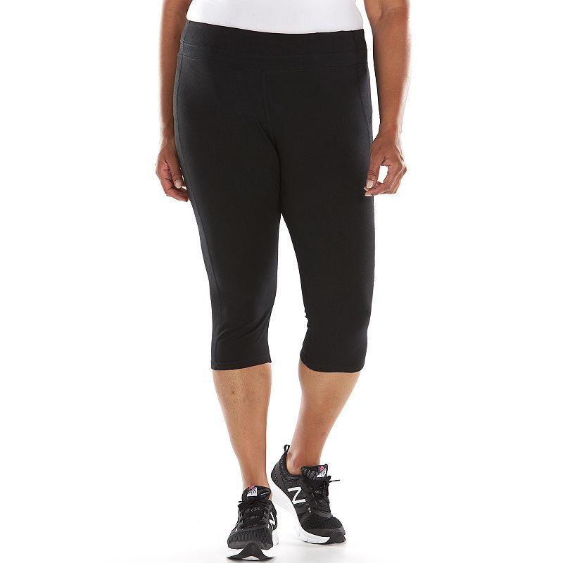 Plus Size Tek Gear® Fitted Capri Leggings