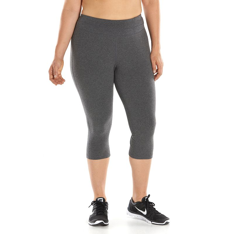 Plus Size Tek Gear® Fitted Capri Leggings