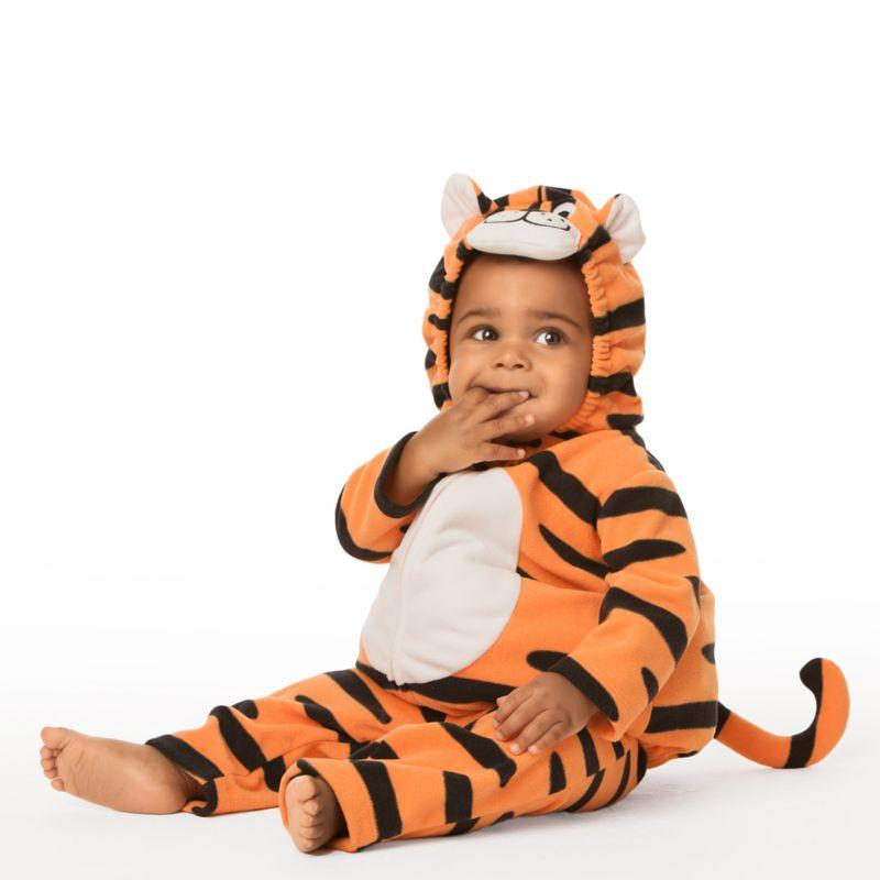 Carter's Microfleece Tiger Costume - Baby Boy (Orange)