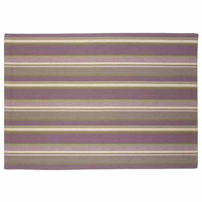 Park B. Smith Kenswick Stripe Woven 4-pc. Placemat Set