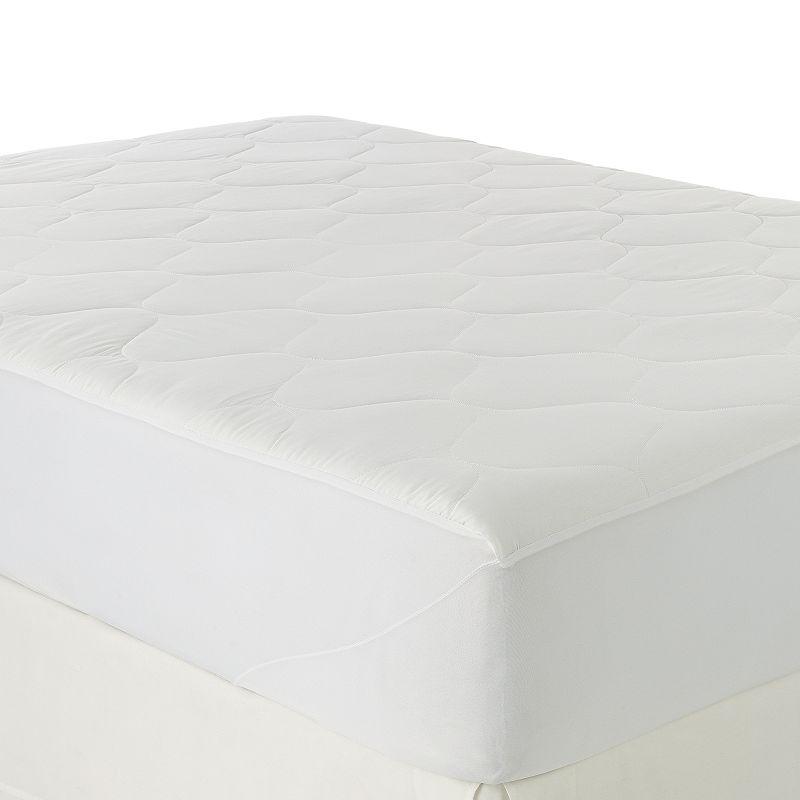 Serta 300-Thread Count Triple Protection Deep-Pocket Mattress Pad
