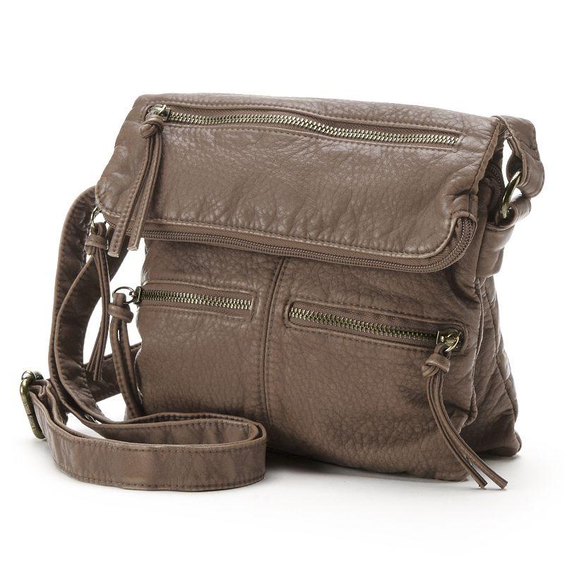 SONOMA Goods for Life™ Dallas Flap Crossbody Bag