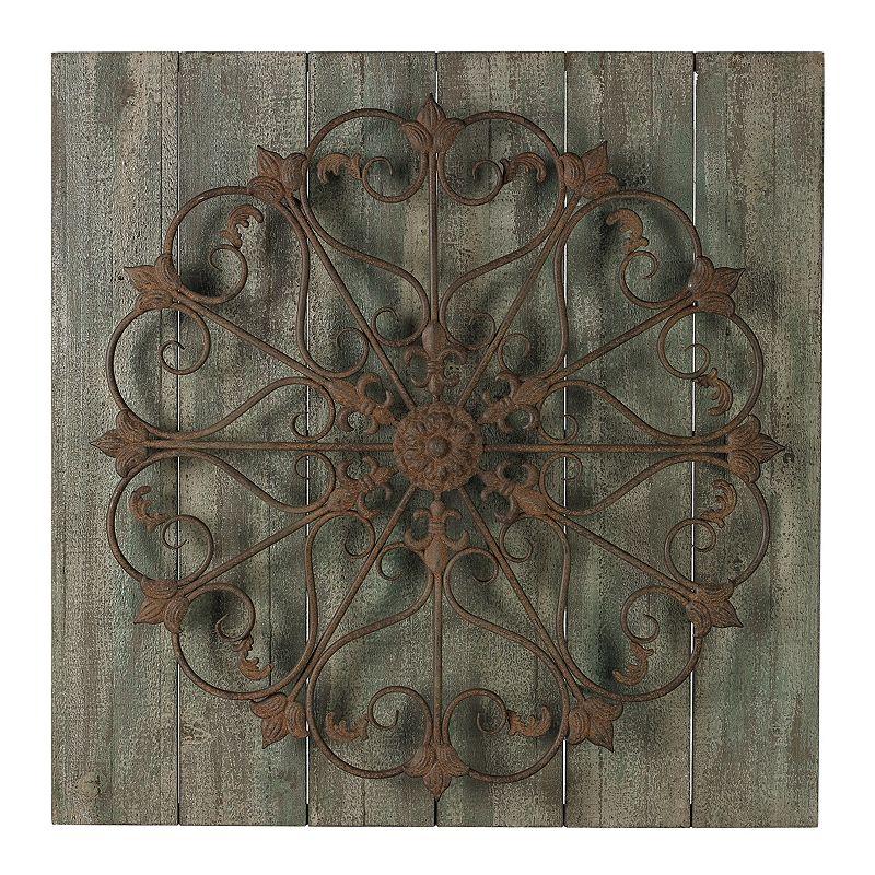 Sterling ''Meridian'' Metal Scroll Wall Decor