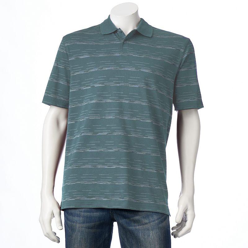Haggar® Classic-Fit Striped Polo - Men