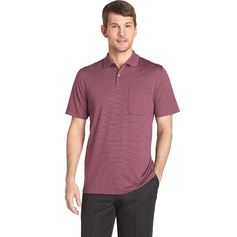 Van Heusen Feeder Stripe Polo - Men