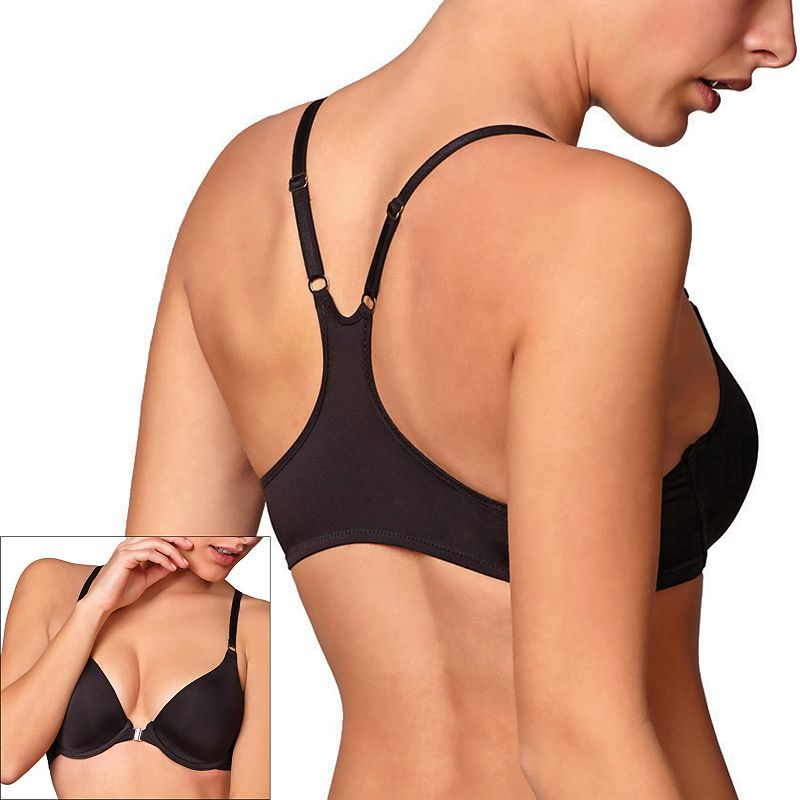 Montelle Intimates Bra: Pure Racerback Front-Close Bra 9013
