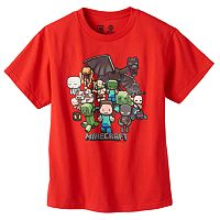 Boys 8-20 Minecraft Party Tee by JINX