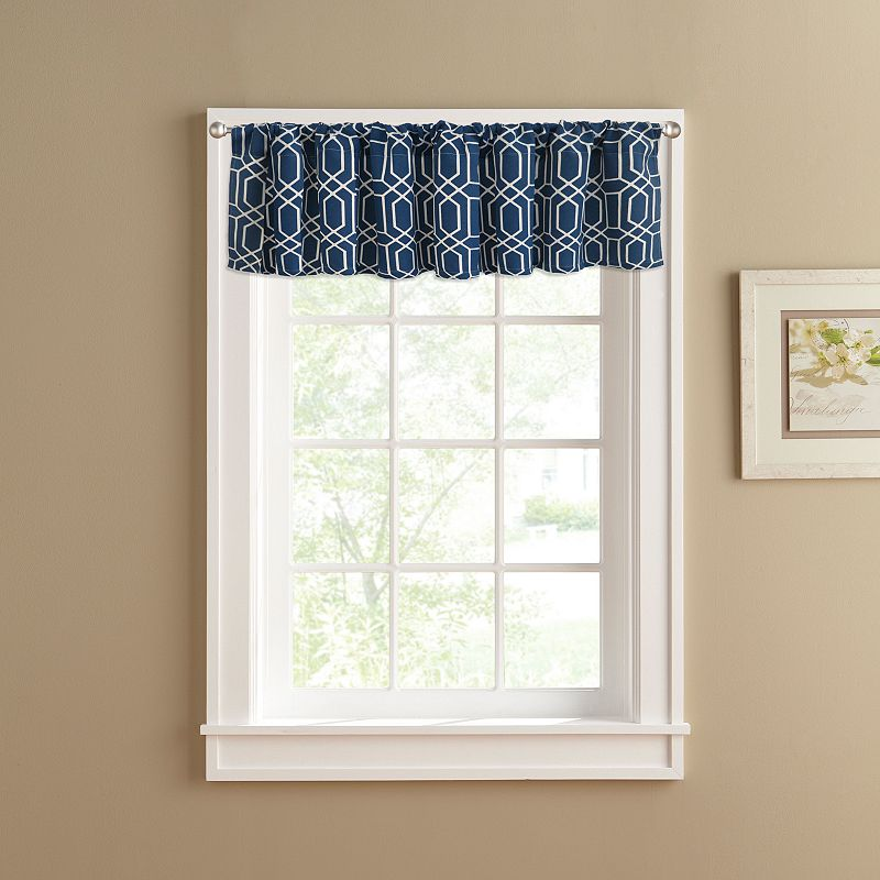 Colordrift Penny Straight Valance - 60'' x 14''
