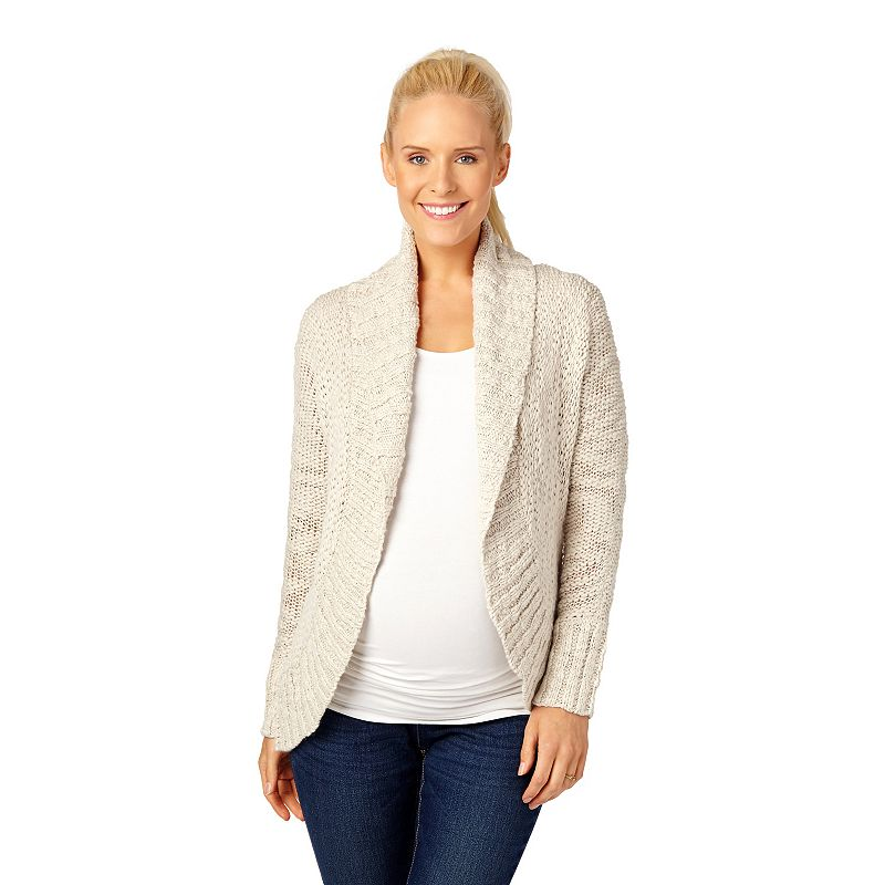 Maternity Oh Baby by Motherhood™ Open-Front Cocoon Cardigan