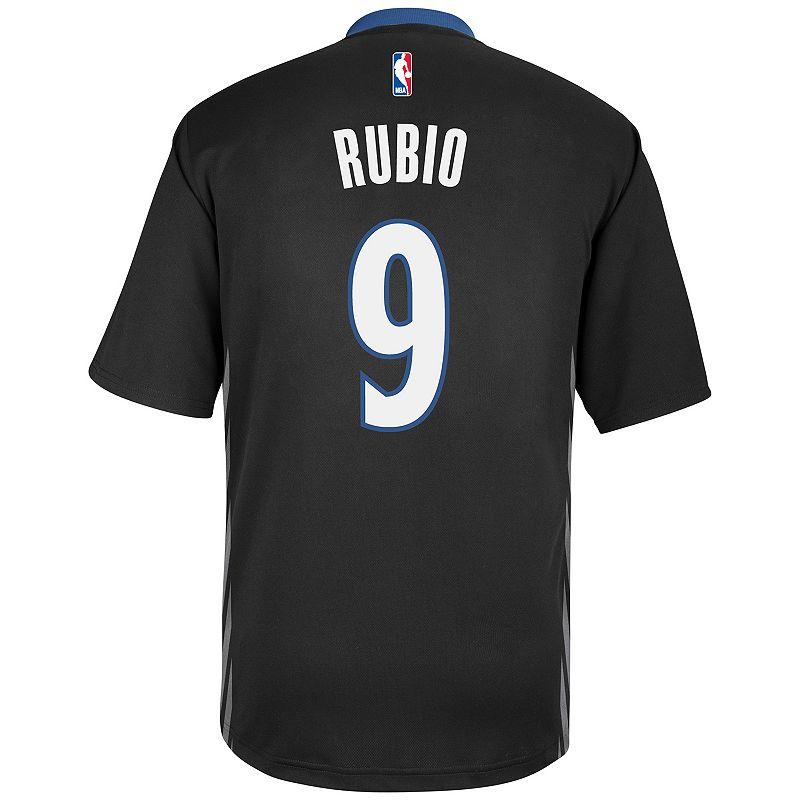 Men's adidas Minnesota Timberwolves Ricky Rubio Jersey