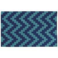 PANTONE UNIVERSE™ Matrix Chevron Reversible Wool Rug