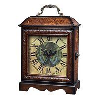 Sterling Green Butterfly Clock