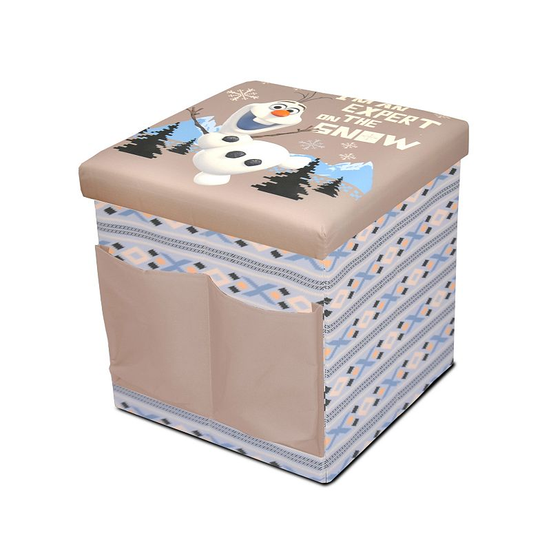 Disney's Frozen Olaf Sit & Store Folding Ottoman